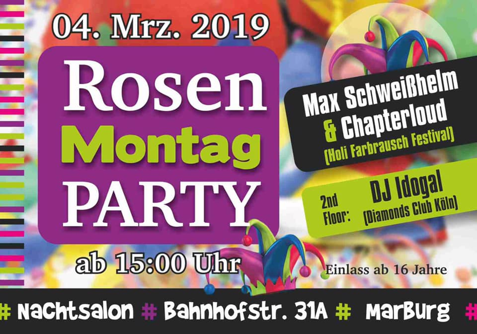 Rosenmontagsparty Vol. 4