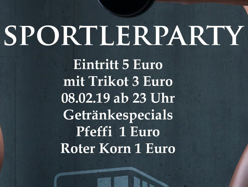 Sportlerparty meets Marburg Mercenaries