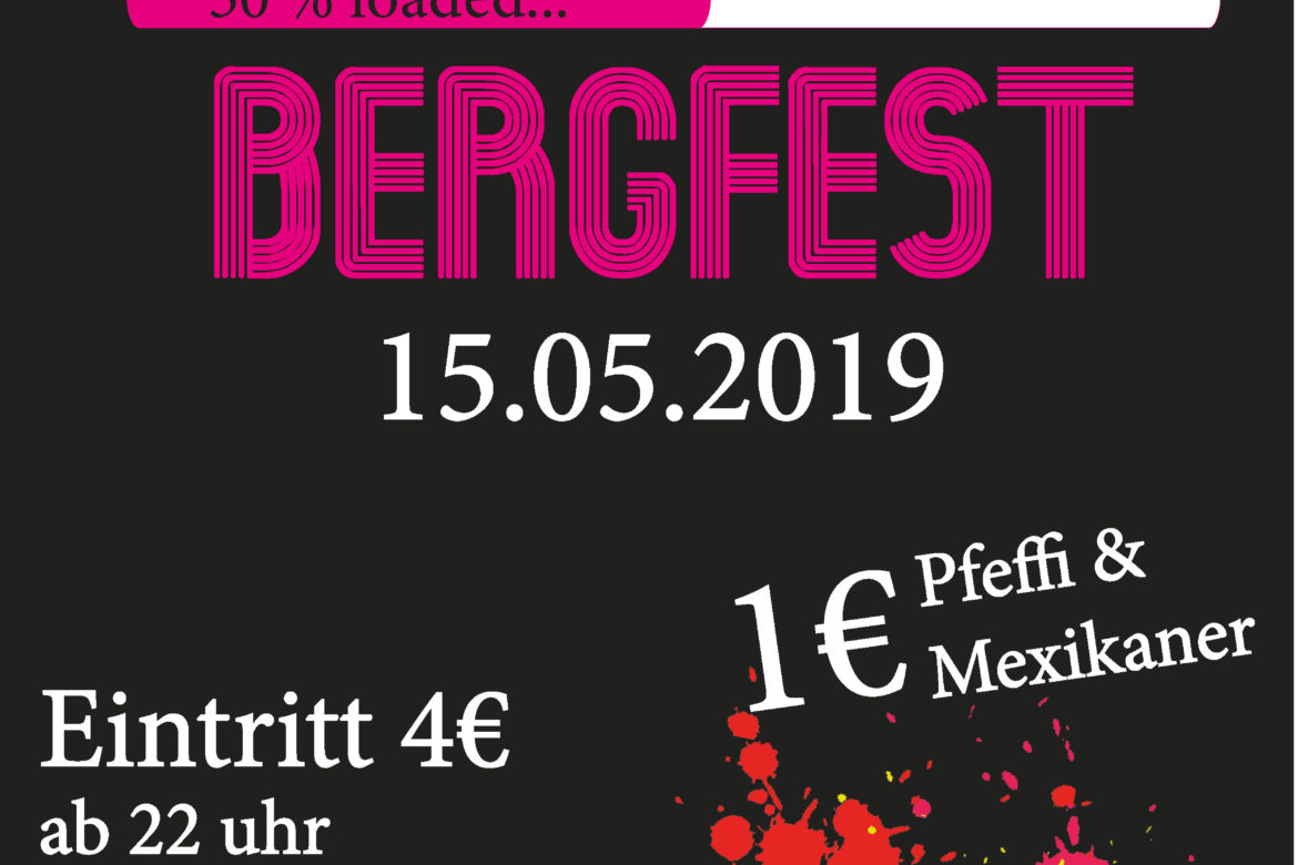 Bergfest-Party