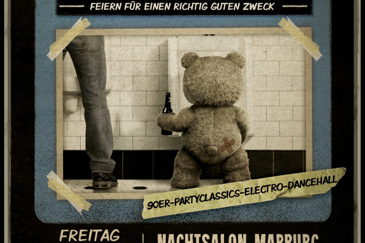Teddy Shaggy - Party der Teddyklinik Marburg e.V.