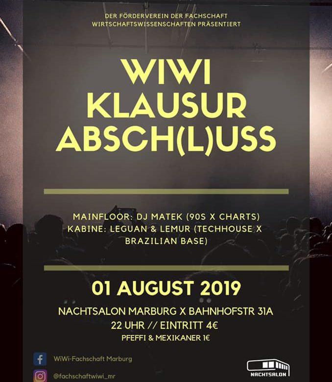 WiWi Klausurabsch(l)uss