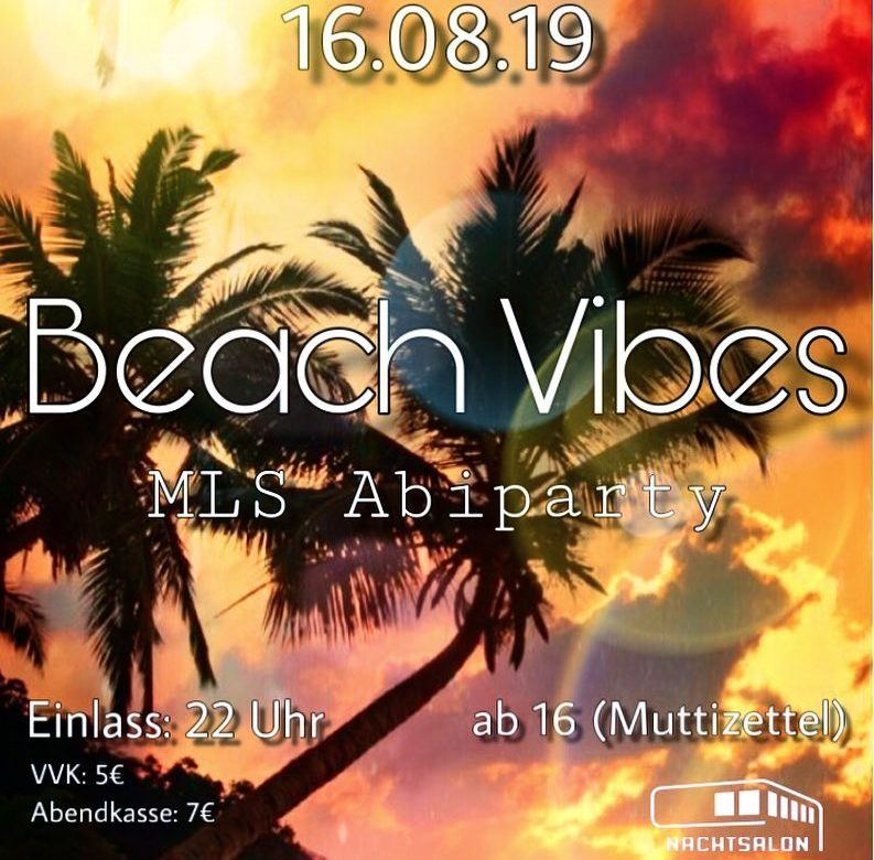 Beach Vibes - MLS Abiparty