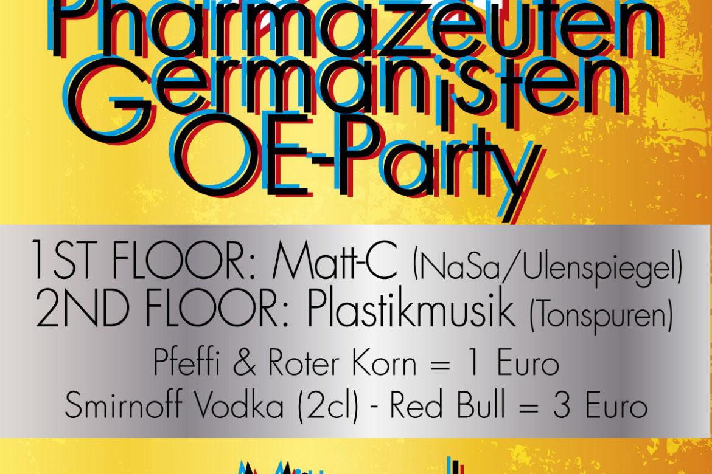 Pharmazeuten - Germanisten OE Party