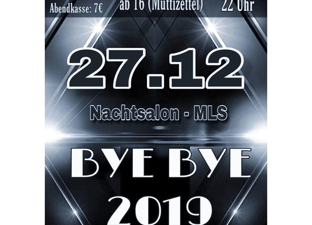 Bye Bye 2019 - Abiparty der MLS